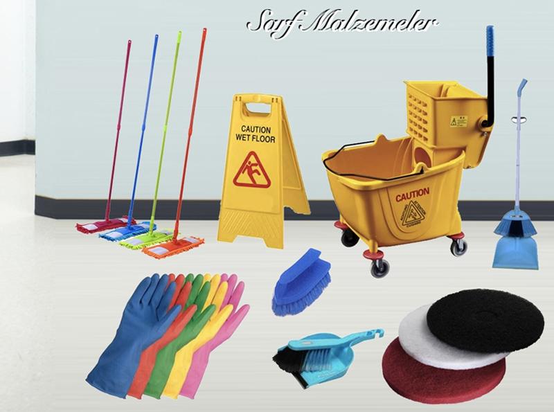 temizlik sarf malzemeleri, temizlik sarf ürünleri